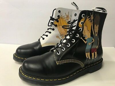 35ce96f09e DR. MARTENS PASCAL Beavis And Butt-head Boots Mens Size UK 10 US 11 ...