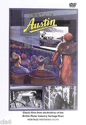 Dependable Austin Cars DVD 1930s motoring archives from the Austin Motor Co *NEW