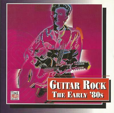 1994 OOP CLASSIC TIME-LIFE CD: VARIOUS ARTISTS - GUITAR ROCK: THE EARLY '80s