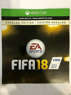 Fifa 18 Ronaldo Edition Digital Content Xbox One (NOT FULL GAME!) DLC ONLY!