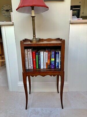 Antique Book Shelf/Lamp Stand