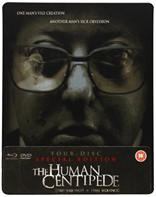 Dieter Laser, Ashley C. Wil...-Human Centipede 1 and 2 Blu-ray NUEVO