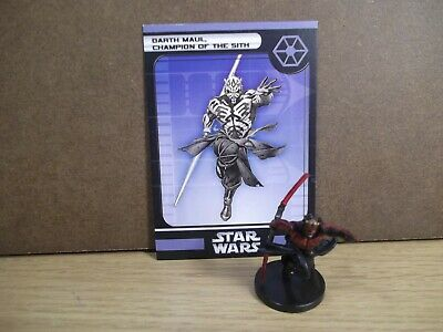 Star Wars Champions of the Force 18//60 Sith Trooper Commander Uncommon