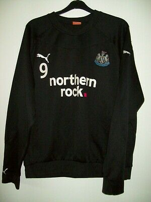 Newcastle United Number 9 Training Jumper Worn At The Newcastle Training Ground