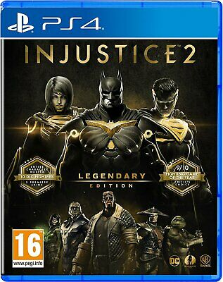 NEW & SEALED! Injustice 2 Legendary Edition Sony Playstation 4 PS4 Game
