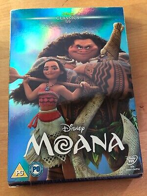 Moana Dvd [Brand New & Sealed]