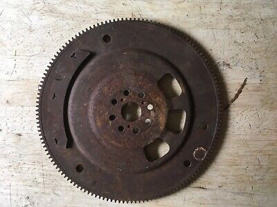 "Vintage 12""  Rusty Metal Steel Flywheel Gear Industrial Steampunk"