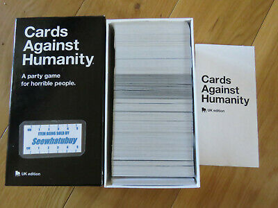 Cards Against Humanity UK Edition -  A Party Game For Horrible People / 17+ Yrs