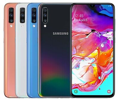 "Samsung Galaxy A70 SM-A705MN Single Sim (FACTORY UNLOCKED) 6.7"" 128GB 6GB RAM"