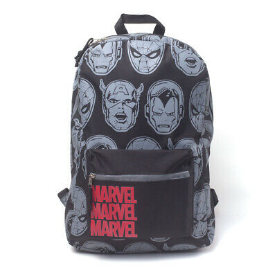 NEW! Marvel Comics Characters All-Over Print Backpack Multi-Colour BP412143MVL
