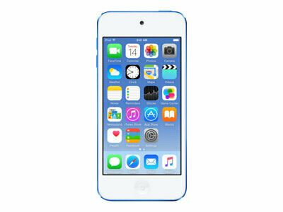 NEW! Apple MKWP2BT/A Ipod Touch 6Th Generation Digital Player  Ios 8 128 Gb Blue