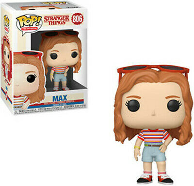 FUNKO POP! TELEVISION: Stranger Things - Max in Mall Outfit [New Toys] Vinyl F
