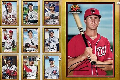 Topps Bunt Drop 2 Bowman 30th Anniversary Gold Complete Set Of 10 Digital Cards