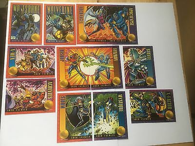 Skybox Marvel X Men 35 36 37 38 39 40 41 44 45 46 47 48 Storm 1993 Trading Cards