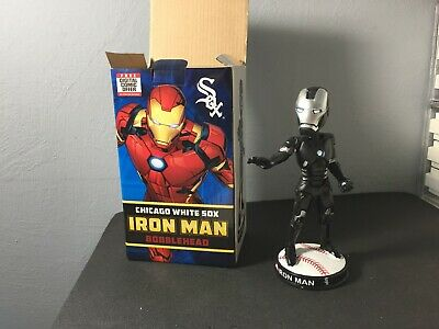 Chicago White Sox Iron Man Bobblehead SGA 7/28/18 Marvel Super Hero