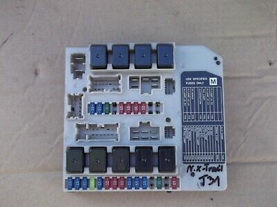 Fuse Box Nissan X Trail T30 2 2 Di Dpf 4x4 14 03 Picclick Uk