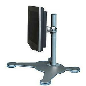 "NEW! Newstar Tilt/Turn/Rotate Desk Stand for 10-30"" Monitor Screen Height Adjust"