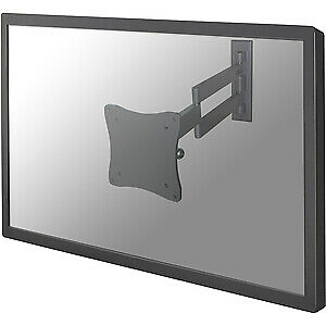 "NEW! Newstar Tv/Monitor Wall Mount Full Motion for 10""-27"" Screen Silver 25.4 Cm"