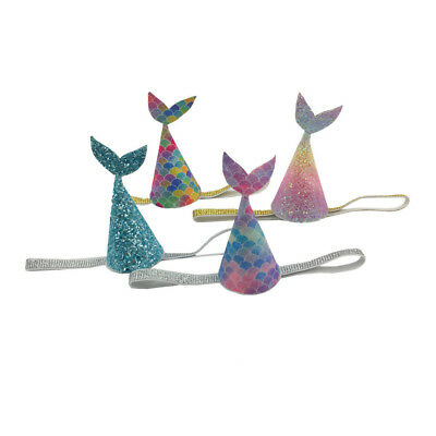 Lovely Glitters Mermaid Tail Party Hat Girlfriends First Birthday Party Hat Pip