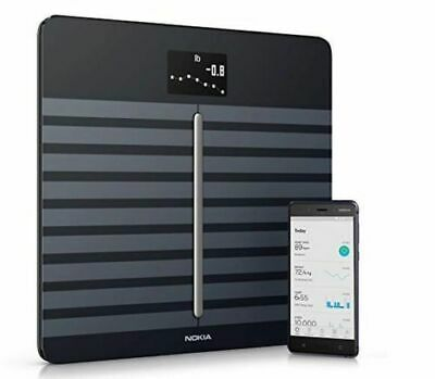 Nokia Body Cardio – Heart Health & Body Composition Wi-Fi Scale, Black