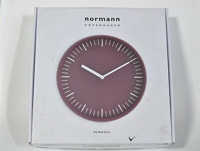 Normann Copenhagen Day wall clock Blush eames danish retro era