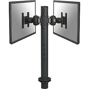 "NEW! Newstar Tilt/Turn/Rotate Dual Desk Mount Grommet for Two 10-27"" Monitor Scr"