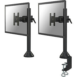 "NEW! Newstar Tilt/Turn/Rotate Desk Mount Clamp & Grommet for 10-30"" Monitor Scre"