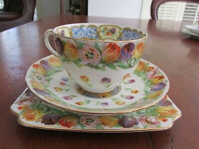 Superb Royal Doulton Tulip Trio or Cup Saucer and Plate Quantity Available