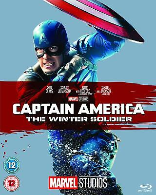 Captain America: The Winter Soldier  with  Chris Evans New (Blu-ray  2014)