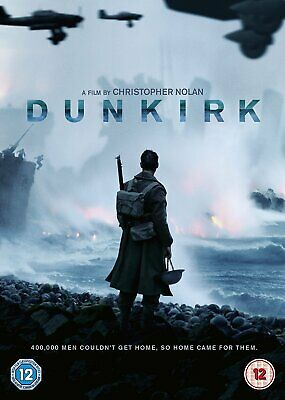 Dunkirk  with  Tom Hardy New (DVD  2017)
