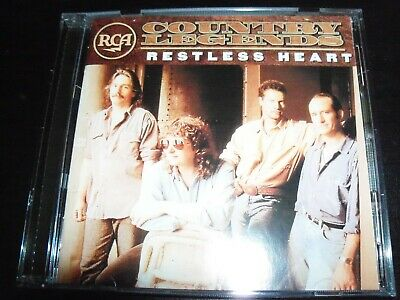 Restless Heart ‎– RCA Country Legends CD – Like New