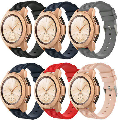 3-Pack Soft Silicone Strap Watch Band For Samsung Galaxy Watch 42mm/Active/Gear