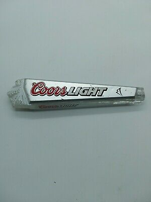 Vintage Coors Light Beer Tap Handle Rocky Mountains