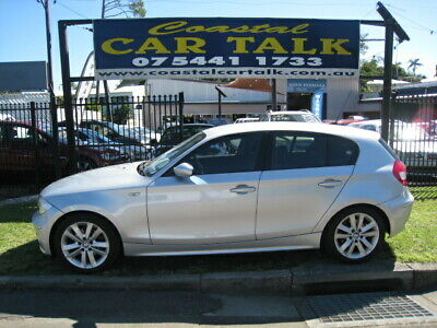 BMW 120i E87 2005 Silver Hatchback 2lt Auto Needs Mechanical Att Oil pump Failed