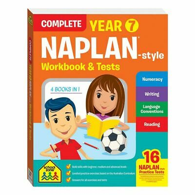 NEW School Zone Complete Year 7 NAPLAN*-style Workbook and Tests