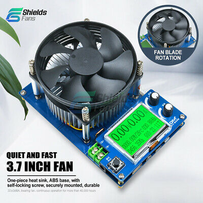 Intelligent Electronic Load 150V 10A 150W Battery Discharge Capacity USB Tester
