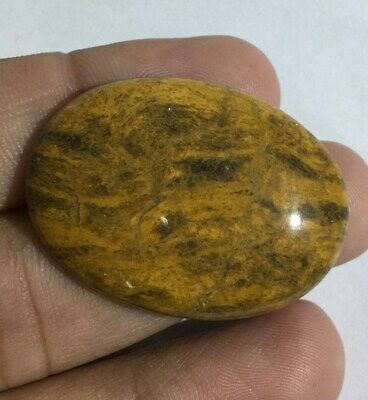 Natural Camel Jasper Gemstone Top Quality Good Color Loose Cabochon 50.8 Cts L#9