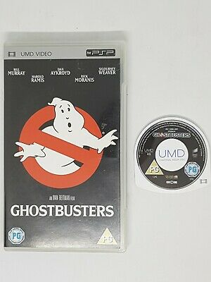 Ghostbusters for UMD, 2005 Film Movie for Sony PSP - Classic 80s!