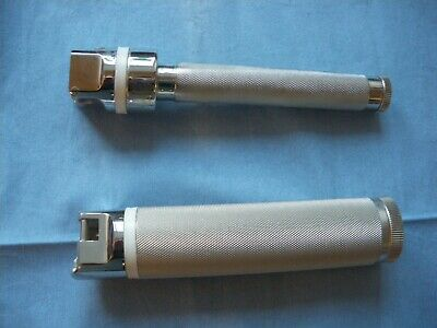 2 Vital View Laryngoscope Handles for fiber optic blades slim and standard