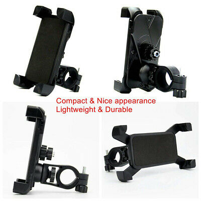 "3.5-7"" Black Bike Bicycle Handlebar Stand Mount Holder Mobile Cell Phone GPS US"