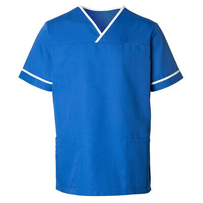 Alexandra Unisex NHS Healthcare Health Carer Contrast Trim Scrub Tunic - HP20