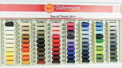 Gutermann Sew All Thread 80 x 100 m reels