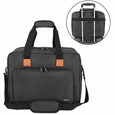 a5926d03dcf4 LUXJA ROLLING SEWING Machine Bag with Shoulder Strap and Handle ...