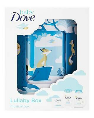 BABY DOVE Rich Moisture Rotating Lullaby Musical Tin Gift Set - Shampoo & Lotion