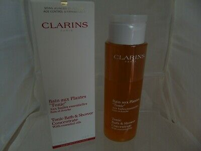 CLARINS Tonic Bath & Shower Concentrate 200ml  - NEW
