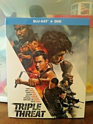 Triple Threat Blu-Ray + DVD Combo (Factory Sealed)
