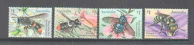 Australia 2019 Native Bees mint unhinged set 4 sheet stamps