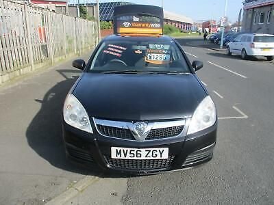 56 Plate Vauxhall Vectra Exclusiv 1.8 Five Door