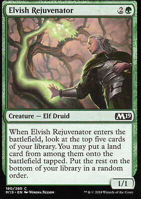 FNM Promo FOIL MTG Magic NM 4x Elvish Rejuvenator Magic: The Gathering, MTG)