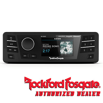 Rockford Fosgate PMX-HD9813 Digital Media Radio Receiver 98-13 Harley
